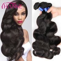 Dashing Brazilian Body Wave 1 Pc Sleek Hair Weave Bundles Deals Color Red Honey Blonde Burgundy Brown 99j 100% Remy Human Hair Extension Hair Extensions & Wigs Human Hair Weaves