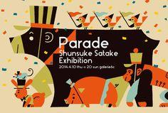 Parade by Shunsuke Satake, via Behance