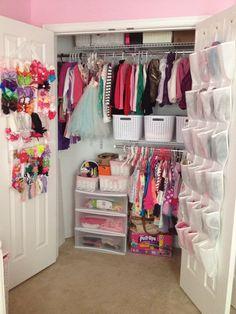 49 Trendy Baby Bedroom Closet Little Girls Girls Bedroom Storage, Baby Room Storage, Kid Closet, Closet Bedroom, Baby Bedroom, Home Decor Bedroom, Little Girl Rooms, Closet Organization, Kids Room