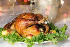Chapon farci aux gésiers et pommes Valeur Nutritive, Nutrition, Calories, Turkey, Meat, Food, Holiday Desserts, Party Dishes, Christmas Recipes