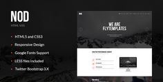 NOD - Business Landing Page HTML Template by FlyTemplates
