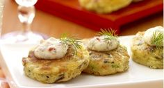 Shrimp and Wild Rice Cakes with Roasted Pepper-Dill Aioli