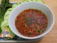 GRILLED MEAT DIPPING SAUCE, 'NAM JIM JEAW