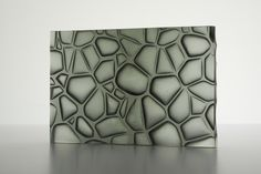 V & C Design - Grey Lotus ( Cast Glass)