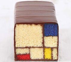 Mondrian cake
