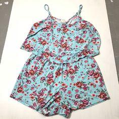 84b468076bac NEW Women s Plus Size Renn Sleeveless Floral Print Romper White Yellow size  2X