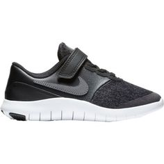 the best attitude c8a0a 31578 Nike Boys  Flex Contact Running Shoes (Black Grey, Size 3) - Youth Running  Shoes at Academy Sports