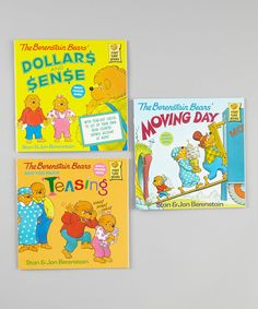 Love this Berenstain Bears Too Much Teasing Paperback Set by The Berenstain Bears on #zulily! #zulilyfinds