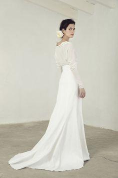 """""""Paula"""" top and """"Falda"""" skirt,  price upon request, lohobride.com."""