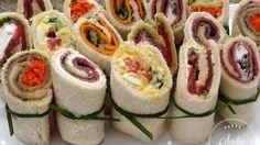 Sandwiches roulés