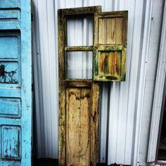 One of a kind reclaimed door