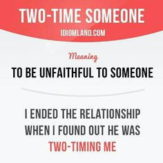 Two-time someone