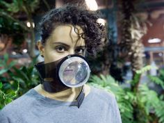 """students from the University of Pennsylvania proposed a """"couture"""" air mask that uses live spiders and their webs to filter out pollutants. Scientists have noted before the electrostatic properties of the glue that coats spiderwebs. The sticky stuff could even rival industrial sensors in efficiency, they said. """"We figured that if spider webs are capable of catching pollutants that are present in the air, we could propose them as a natural and biodegradable alternative to wearable air filters…"""