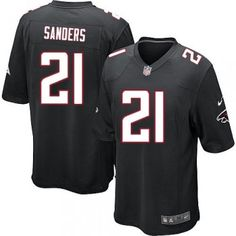 e74429bf3 Package - mail cheap jerseys!Nike Atlanta Falcons  21 Deion Sanders Elite  Black Youth NFL Stitched Jersey