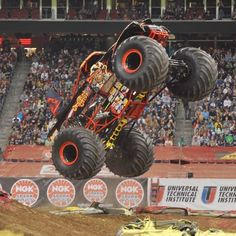 The Downtown Jacksonville Monster Jam!. February 22nd.. This has become a yearly tradition! Can't wait until Sydney can start going!