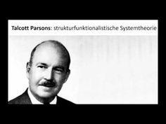 Talcott Parsons: strukturfunktionalistische Systemtheorie