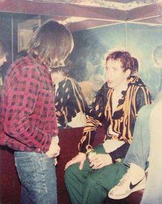 Johnny Rotten & Johnny Ramone