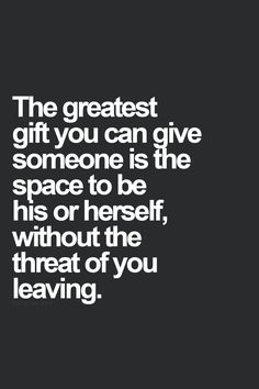 The greatest gift you can give is letting them be them.