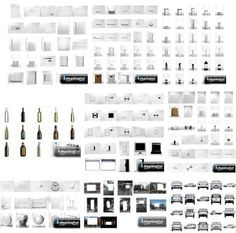 253 Blank Product Packaging Images