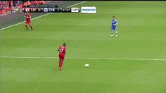 Discover & share this Steven Gerrard GIF with everyone you know. GIPHY is how you search, share, discover, and create GIFs. Soccer Gifs, Steven Gerrard, Manchester United, The Unit, In This Moment, Humor, Sports, Videos, Funny