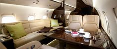 Challenger 850 private jet is available to charter through PrivateFly. To hire Challenger 850 for private flights call Challenger Exterior Design, Interior And Exterior, Private Jet Interior, Private Flights, Contemporary Cabin, Luxury Private Jets, Famous Celebrities, Celebs, Interior Photo