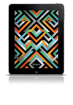 Loading screen design for Wired magazine's iPad app. By Jack Featherstone.