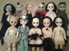 Je bent Most Amazing aanbiedingen? Halloween Doll, Scary Halloween, Halloween Face Makeup, Scary Dolls, Living Dead Dolls, Collector Dolls, Awesome, Amazing, Wicked