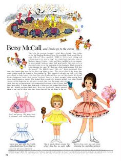 1961, Betsy goes to the circus.  I am trying to not put up too many, though I love them.