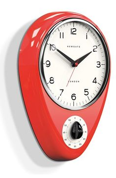 Get old scale -make clock Newgate 'Discovery' Wall Clock & Kitchen Timer Timer Clock, Alarm Clock, Kitchen Wall Clocks, Kitchen Decor, Classic Clocks, Kitchen Timers, Cool Clocks, Modern Clock, Grandfather Clock