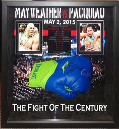 Antiquities LV - Mayweather/Pacquiao Signed Glove, $1,895.00…