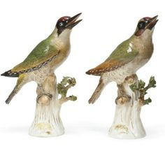 Two Meissen Models of Woodpeckers,   http://www.christies.com/lotfinder/sculptures-statues-figures/two-meissen-models-of-woodpeckers-circa-1870-5588259-details.aspx?from=salesummary=3=5588259=e4d36863-1d8e-4b4f-849d-c21aee8ad56d=13