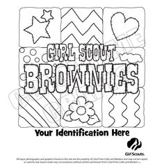 girl scout coloring sheets brownie girl scout basics clothing store