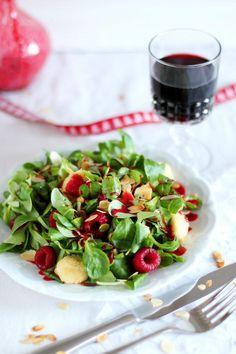 Himbeer-Ziegenkäse-Salat © KüchenDeern