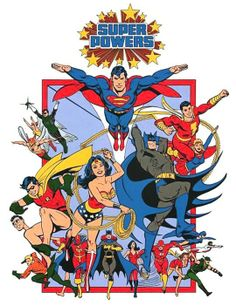 Super Powers Collection, more comic goodness from Garcia Lopez!