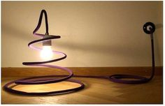 6 ideas to reuse climbing ropes Nomadic Furniture, New Furniture, Furniture Making, Furniture Makeover, Rock Climbing Rope, Rope Lamp, Escalade, Rope Crafts, Light Project
