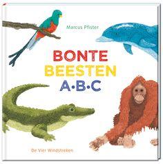 Bonte Beesten ABC - Een vrolijk abc-boek vol dieren van Marcus Pfister