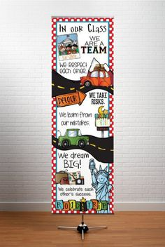 ROAD TRIP  Banner / X-LARGE / In Our Class by ArtrageousFun