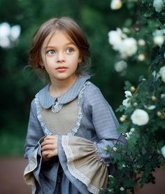 Anna Pavaga in her Game of Thrones persona. Beautiful Little Girls, Cute Little Girls, Beautiful Children, Cute Kids, Cute Girl Dresses, Little Girl Dresses, Flower Girl Dresses, Long Dresses, Young Models