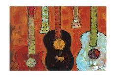 Guitars , Photos and Prints at Art.com