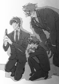 Kekkai Sensen: Steven, Leo (Leonardo), Klaus Hottest Anime, Blood Blockade Battlefront, All Anime, Mafia, Geek