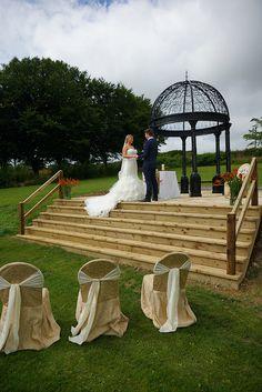 Steps of the Wedding Rotunda at Ballinacurra