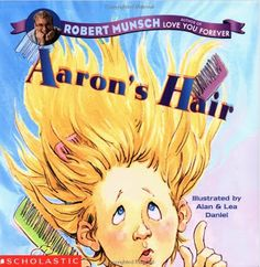 great lesson ideas for Aaron's Hair by Robert Munsch!