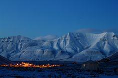 Photograph Longyearbyen by blue by Kjetil Ydstebø on 500px