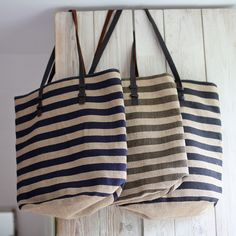 This handmade, sustainable and fair trade summer tote bag holds a ton! Made from jute it's totally Eco-summer!