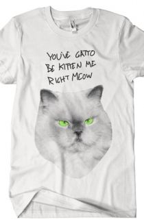 Gatto Be Kitten Me T-Shirt - Joey Gatto T-Shirts - Online Store on District Lines