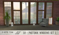 Mod The Sims - K Photonik Windows ( Sunny / Moony ) – 18 x 7 recolors – Set 2