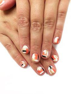 Abstract nails #PreciousPhan