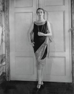Marion Morehouse Wearing A Callot Dress by Edward Steichen, May 15th, 1927