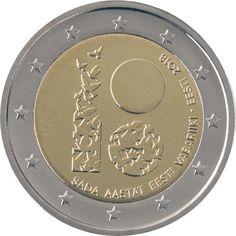 Recopilación de todas las monedas de 2 euros conmemorativas de Estonia, emitidas y de las que ya tenemos confirmación del motivo al que estarán dedicadas. La tabla en la que figuran las monedas se …