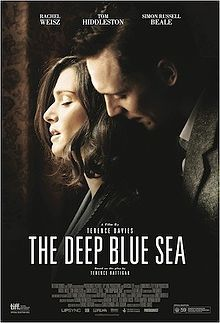The Deep Blue Sea. (England, 2011). Directed by Terence Davies. The wife of a British Judge is caught in a self-destructive love affair with a Royal Air Force pilot. Set 'around 1950'.